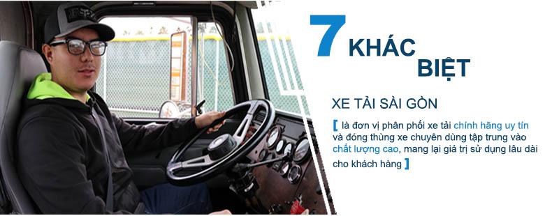 7 cam kết khác biệt khi mua xe tải tại Xe tải Sài Gòn, nhà phân phối Xe tải uy tín hàng đầu