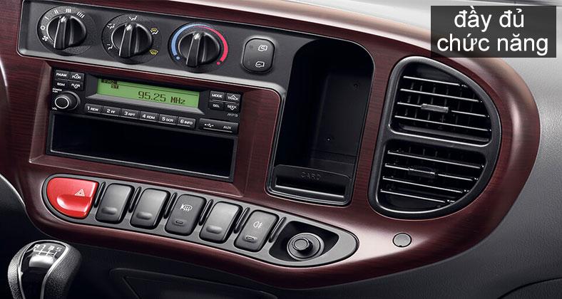 Chi tiết mặt taplo xe tải Hyundai 2t5 New Mighty N250SL