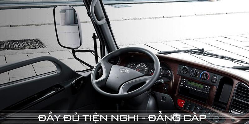 Cabin xe tải 2.5 tấn hyundai
