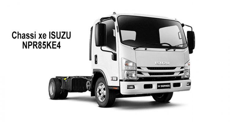 Chi tiết thông số kỹ thuật xe tải ISUZU 3.5 tấn NPR85KE4