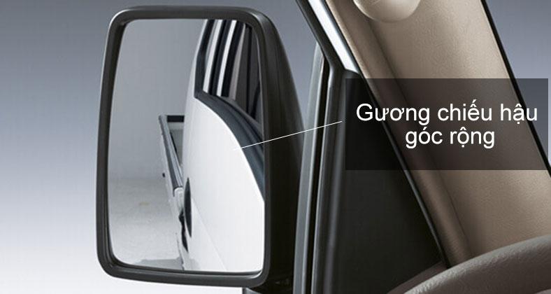 Gương chiếu hậu góc rộng trên xe tải Hyundai H150