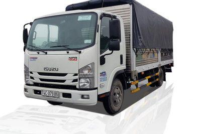 Mẫu xe tải thùng mui bạt đẹp, tải trọng 3.5 tấn ISUZU