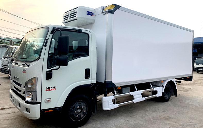 Xe tải thùng đông lạnh ISUZU 3.5 tấn chất lượng loại 1