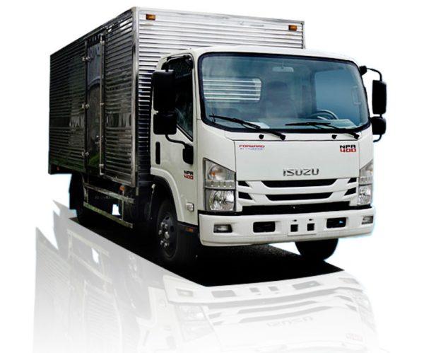 Xe tải thùng kín ISUZU 3.5 tấn NPR85KE4