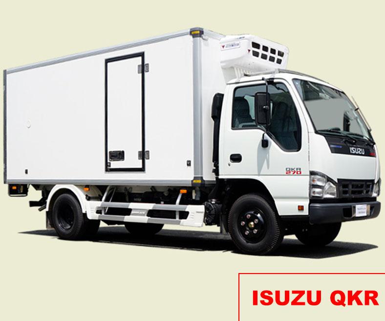 Xe tải thùng đông lạnh 1 tấn ISUZU QKR77HE4