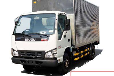 Xe tải ISUZU 2t4 QKR77HE4 thùng kín inox, siêu đẹp