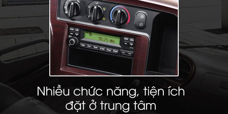 Tiện ích của xe tải 2t5 Hyundai