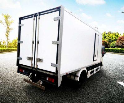 Thùng xe tải đóng mới đẹp, khung inox, vách composite 5 lớp