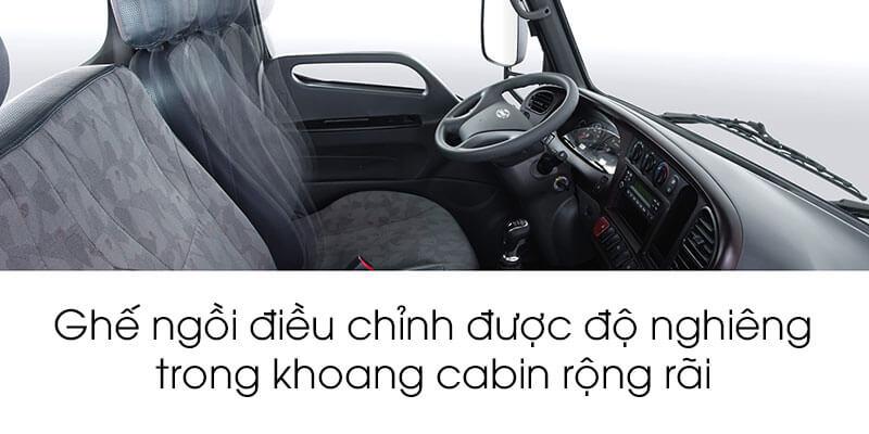 Ghế xe tải Hyundai 2500kg