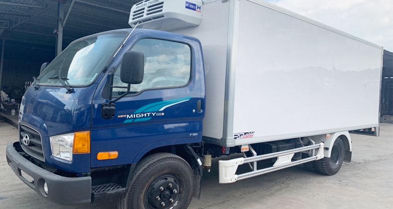 Xe ô tô tải đông lạnh Hyundai New Mighty 110s, tải trọng chở 7 tấn