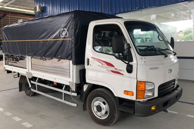 Xe tải thùng mui bạt 2.5 tấn Hyundai N250SL giá rẻ