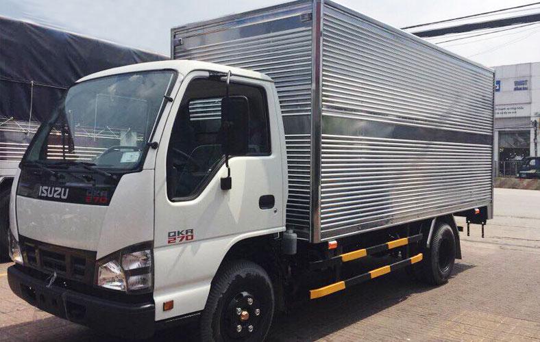 Xe tải ISUZU 1.9 tấn thùng kín QKR77HE4 270
