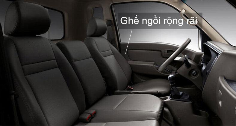 Ghế ngồi trên khoang cabin xe tải Hyundai H150