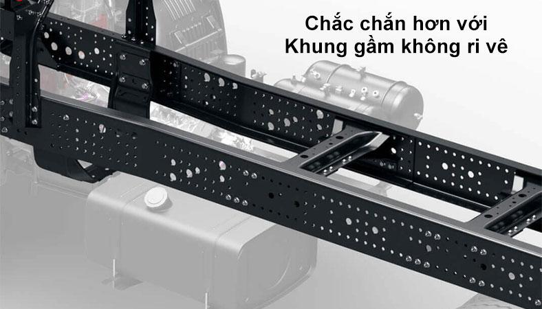 Khung gầm không Ri Vê của xe HINO 500 FG