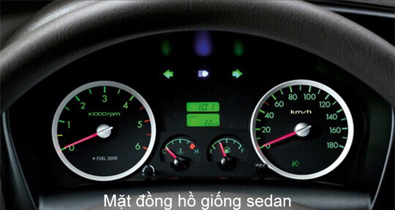 Mặt đồng hồ trên xe tải Hyundai H150