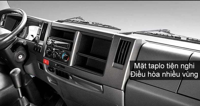 Không gian mặt taplo bên trong xe ISUZU FVR, 8 tấn