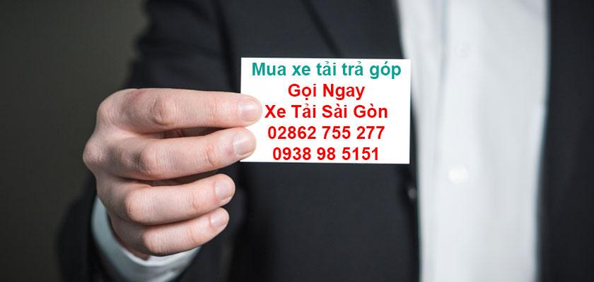 Thông tin số điện thoại Xe Tải Sài Gòn 02862.755.277