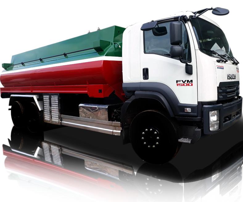 Xe bồn xăng dầu 15 tấn 20 khối ISUZU FVM