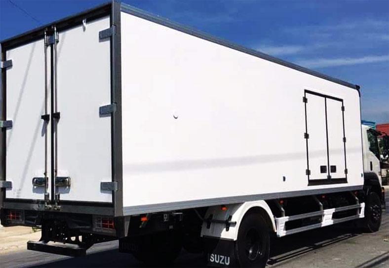 Xe tải ISUZU thùng bảo ôn FVR34L