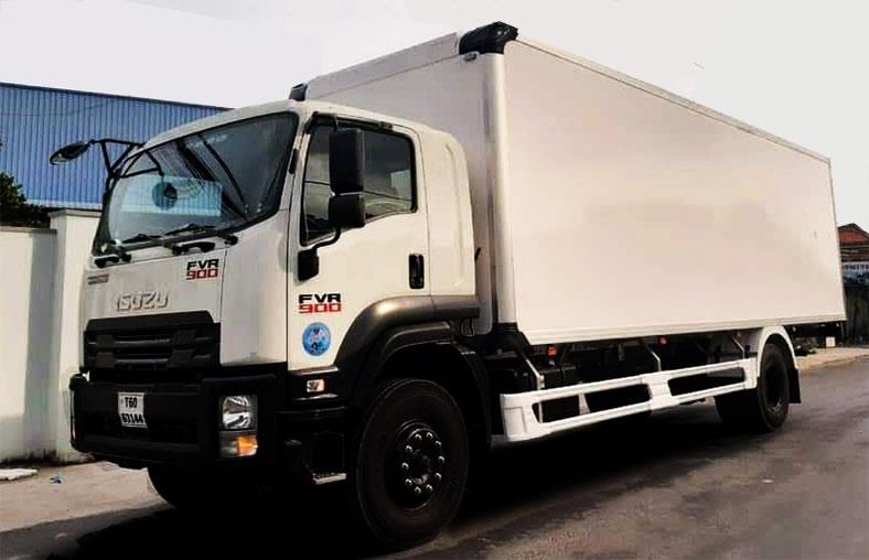 Xe thùng composite 8 tấn