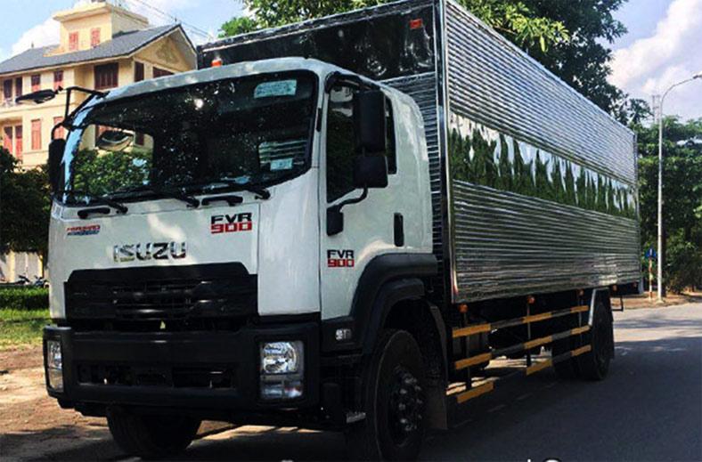 Xe tải ISUZU 9 tấn FVR 900 thùng mui bạt