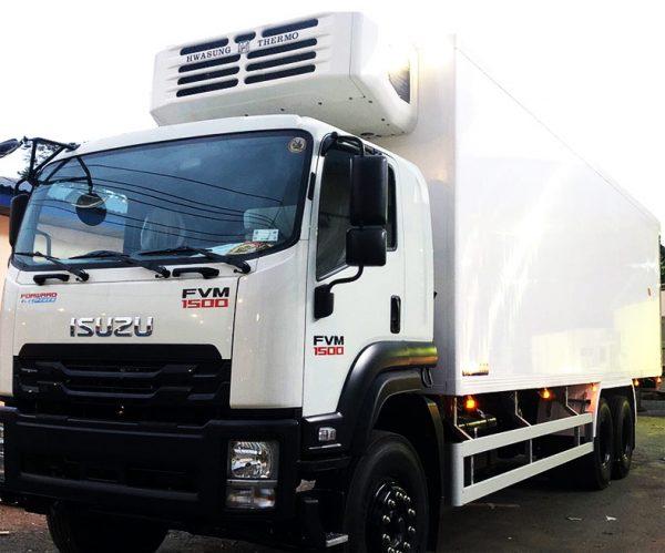 Xe tải đông lạnh ISUZU FVM 15 tấn