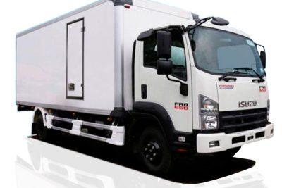 Xe tải ISUZU thùng bảo ôn đẹp, 6.2 tấn FRR