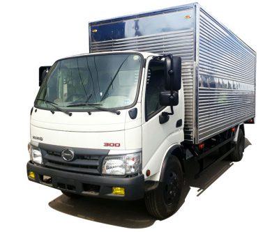 Xe tải HINO 300 thùng kín tải trọng 3.5 tấn