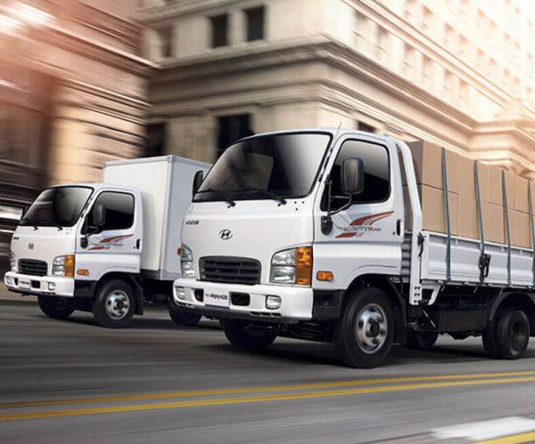 Xe tải thùng lửng chở kính Hyundai N250SL tải trọng 2.5 tấn