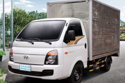 Xe tải Hyundai H150 thùng kín 1 tấn