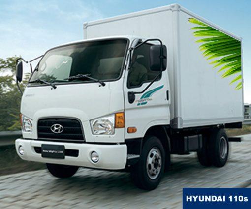 Xe tải thùng kín 7 tấn Hyundai 110s, giá cạnh tranh, cho trả góp