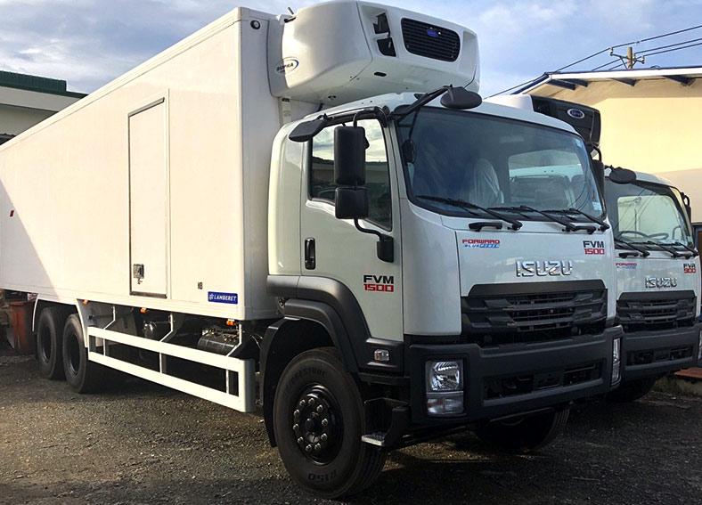 Xe thùng đông lạnh 15 tấn ISUZU FVM