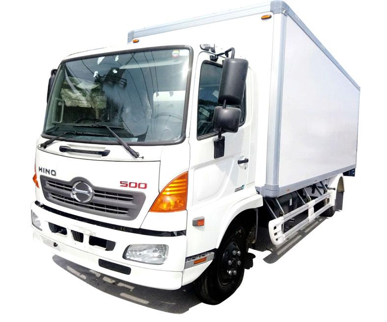 Xe tải HINO thùng đông lạnh, tải trọng chở đến 6.4 Tấn, Giá Tốt