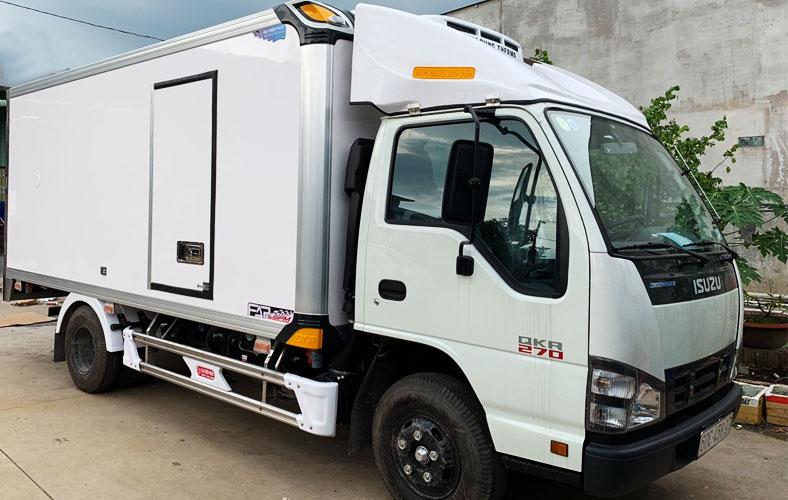 Xe thùng đông lạnh 1.4 tấn