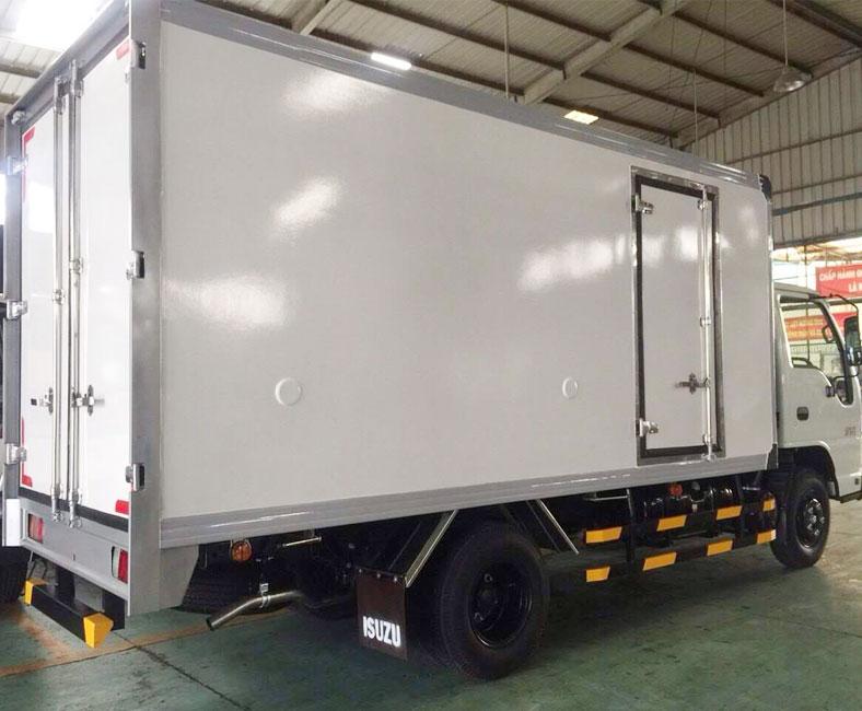 Mẫu xe tải ISUZU 1 tấn thùng đông lạnh QKR77HE4