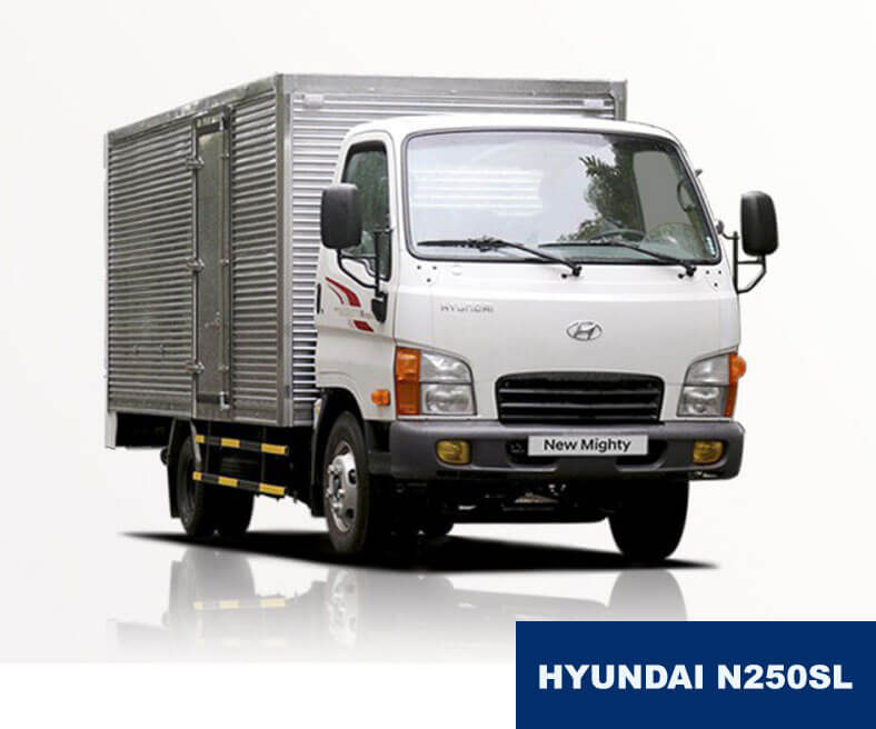 Xe tải 2.5 tấn Hyundai New Mighty N250SL, EURO 4, thùng dài