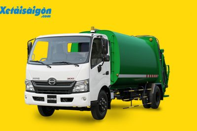 Xe ép rác 3 tấn 5 khối, giá cực rẻ tại TP HCM