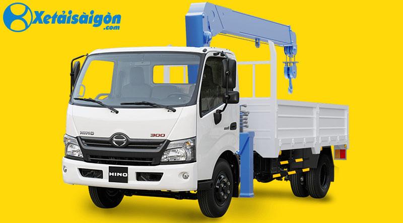 Xe tải gắn cẩu Unic 2 tấn 3 khúc, được ưa chuộng nhất hiện nay