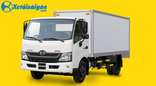 Xe tải thùng kín Compostie Hino 300