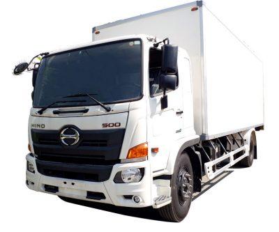 Xe tải thùng đông lạnh HINO 8 tấn, thùng bảo ôn siêu đẹp