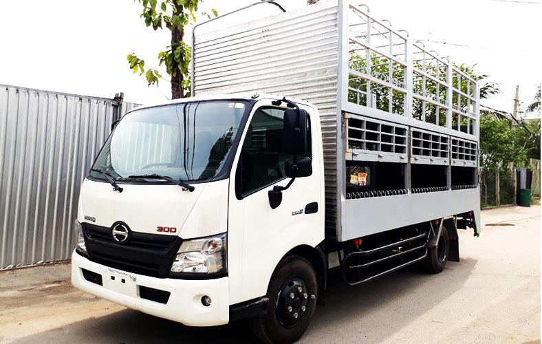 Xe tải chở xe máy tại XeTaiSaiGon.Com
