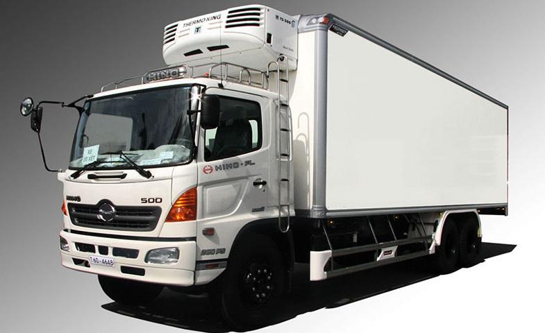 Xe tải đông lạnh HINO 8 tấn đến 9 tấn