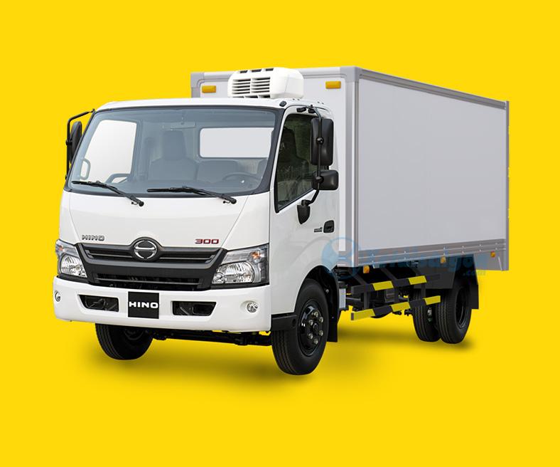 Xe tải Hino 3.5 tấn thùng đông lạnh XZU720L