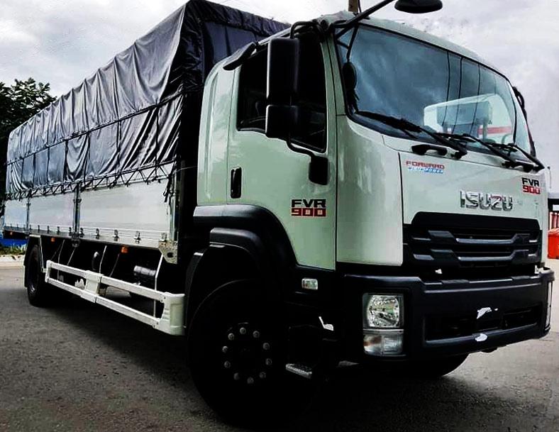 Xe tải thùng mui bạt 9 tấn hoặc 8.2 tấn - Địa chỉ đóng thùng đẹp