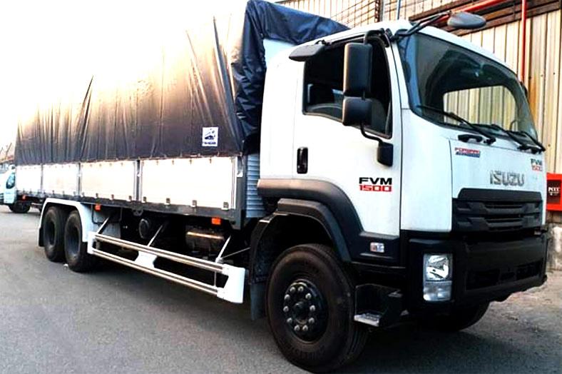 Xe tải ISUZU 15 tấn, Địa chỉ đóng thùng đẹp