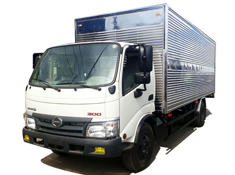 Xe tải thùng kín HINO 300