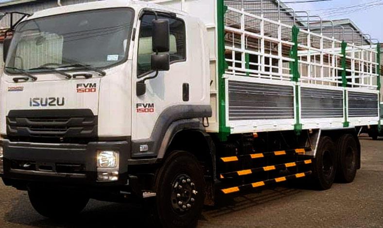 Xe tải ISUZU thùng mui bạt 15 tấn, Mẫu đẹp theo yêu cầu