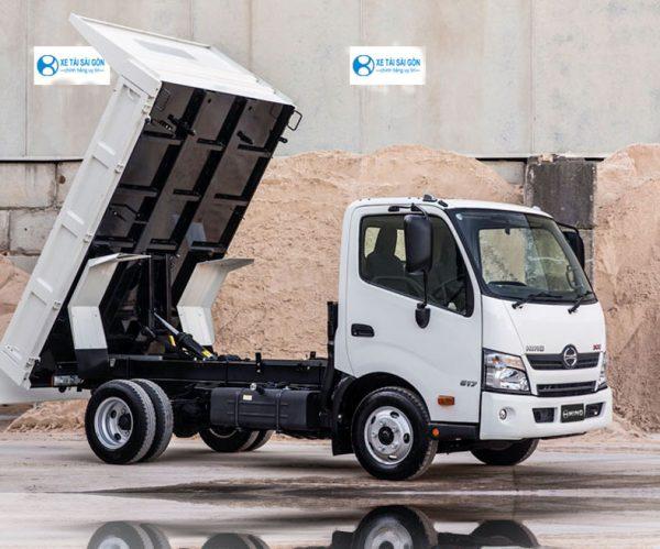 Xe ben nhỏ, chở cát đá vật liệu xây dựng, HINO 300