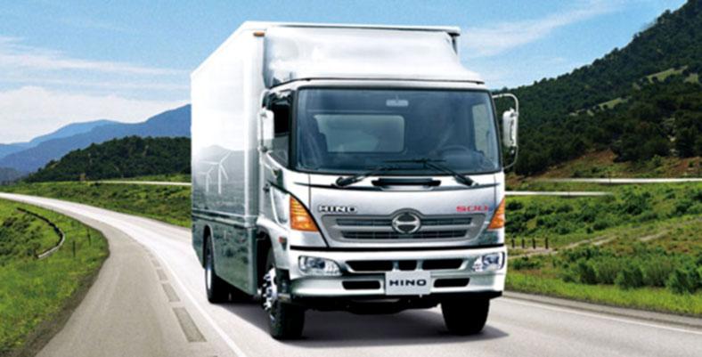 Xe tải thùng kín HINO 500 FC, FG, FL, FM