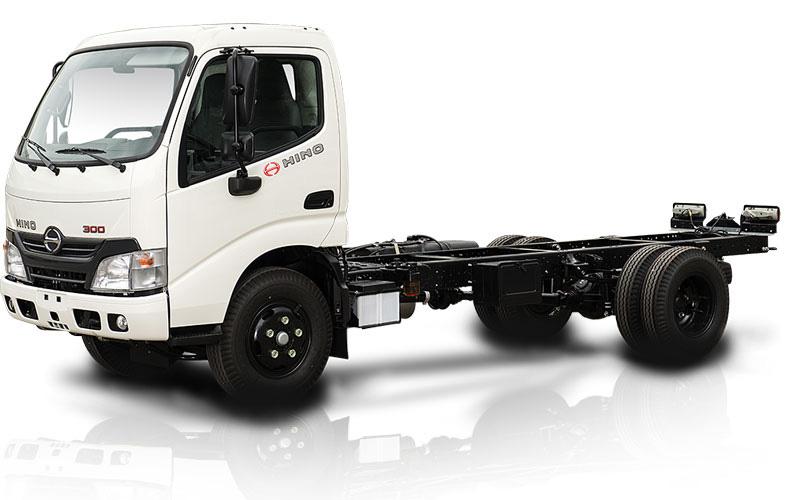 Sát xi xe tải HINO 300, HINO Dutro nhập khẩu